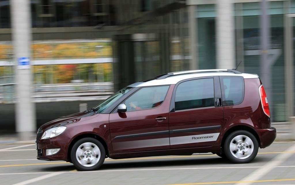 Skoda Roomster laterale
