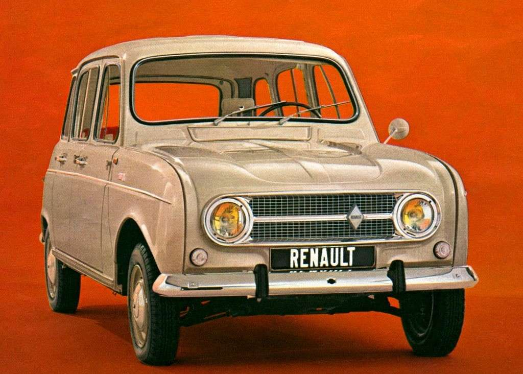 Renault 4 frontale