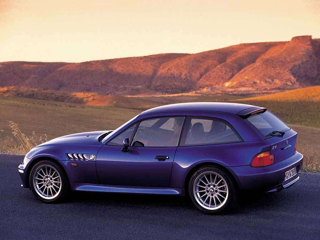 Bmw Z3 Coupé M laterale posteriore