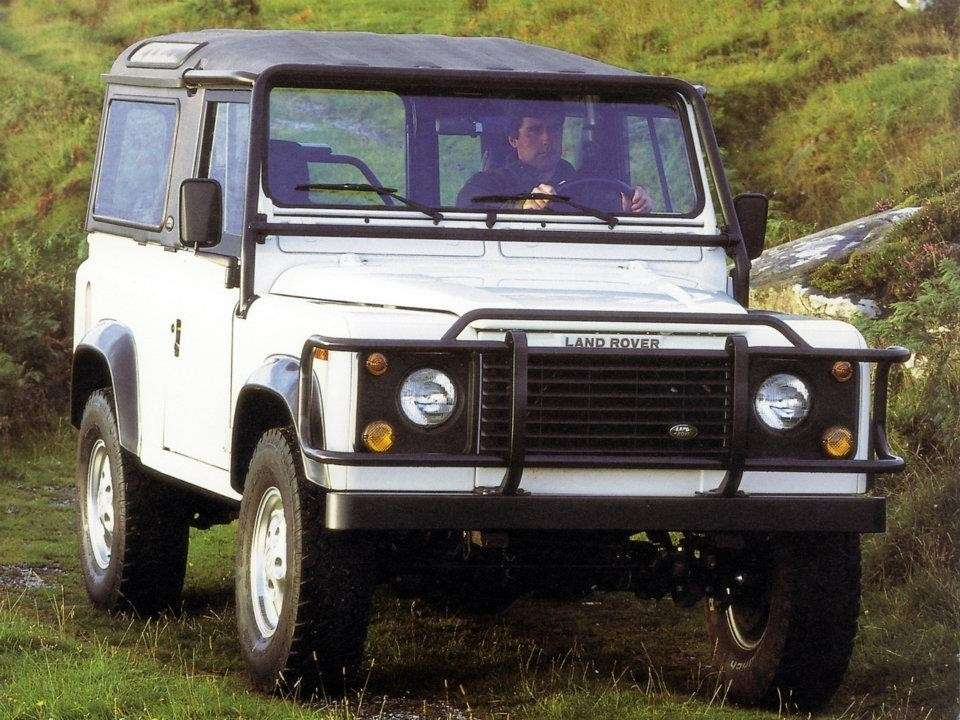 Land Rover Defender 90  frontale
