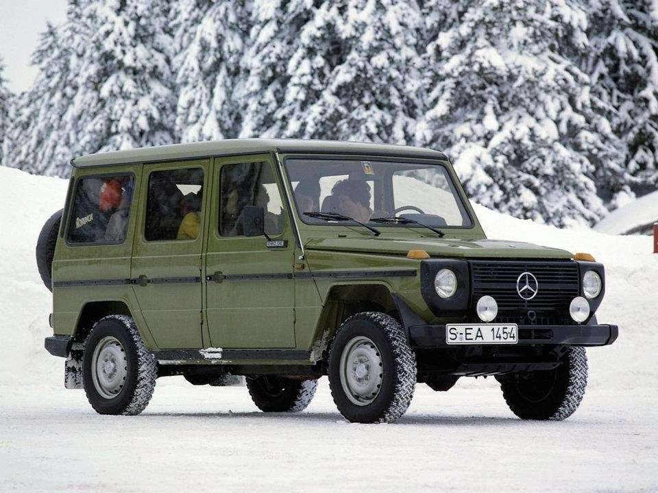 Mercedes Benz G laterale anteriore