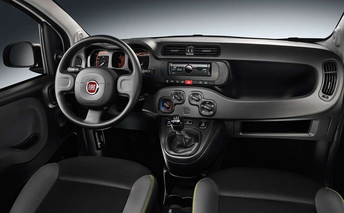 Fiat Panda Young 2014, interni