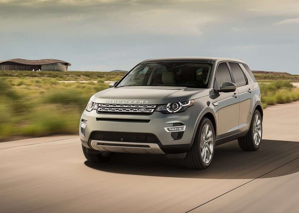 frontale Discovery Sport