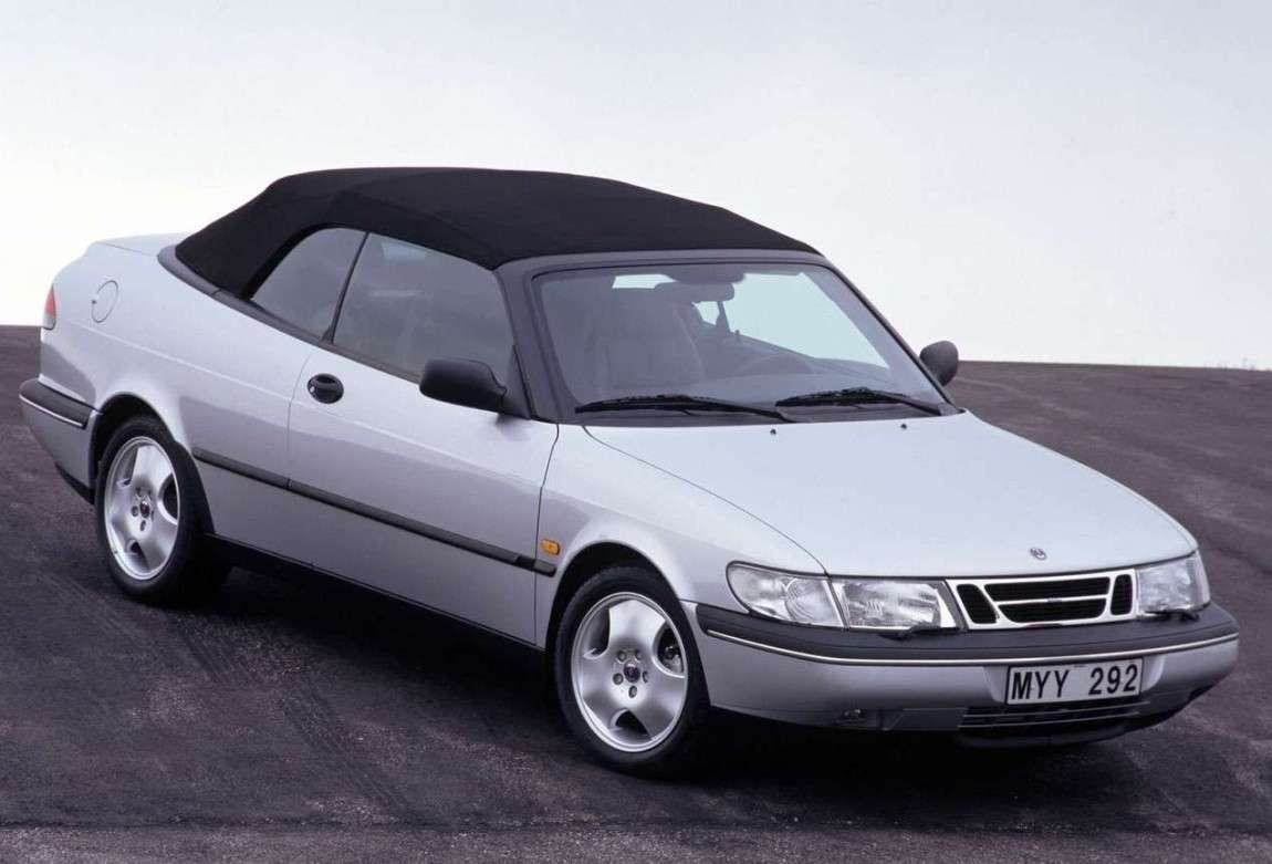 Saab 900 Cabrio frontale laterale