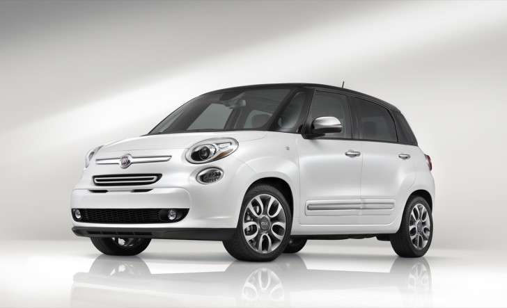 Fiat 500 L Natural Power laterale anteriore
