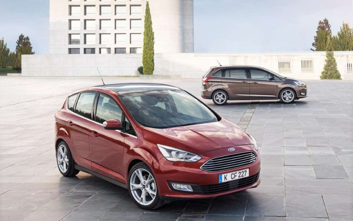 Ford C-Max restyling 2015