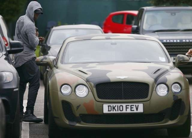 Balotelli Bentley Mimetica