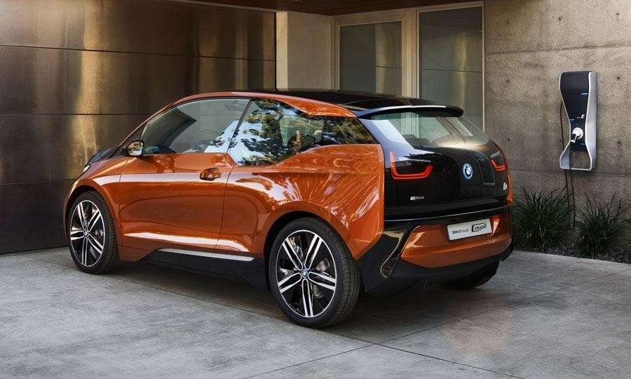 Bmw i3 laterale posteriore