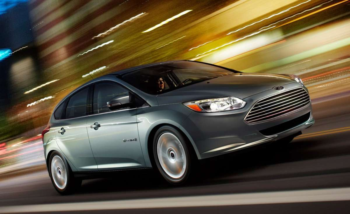 Ford Focus Electric laterale anteriore