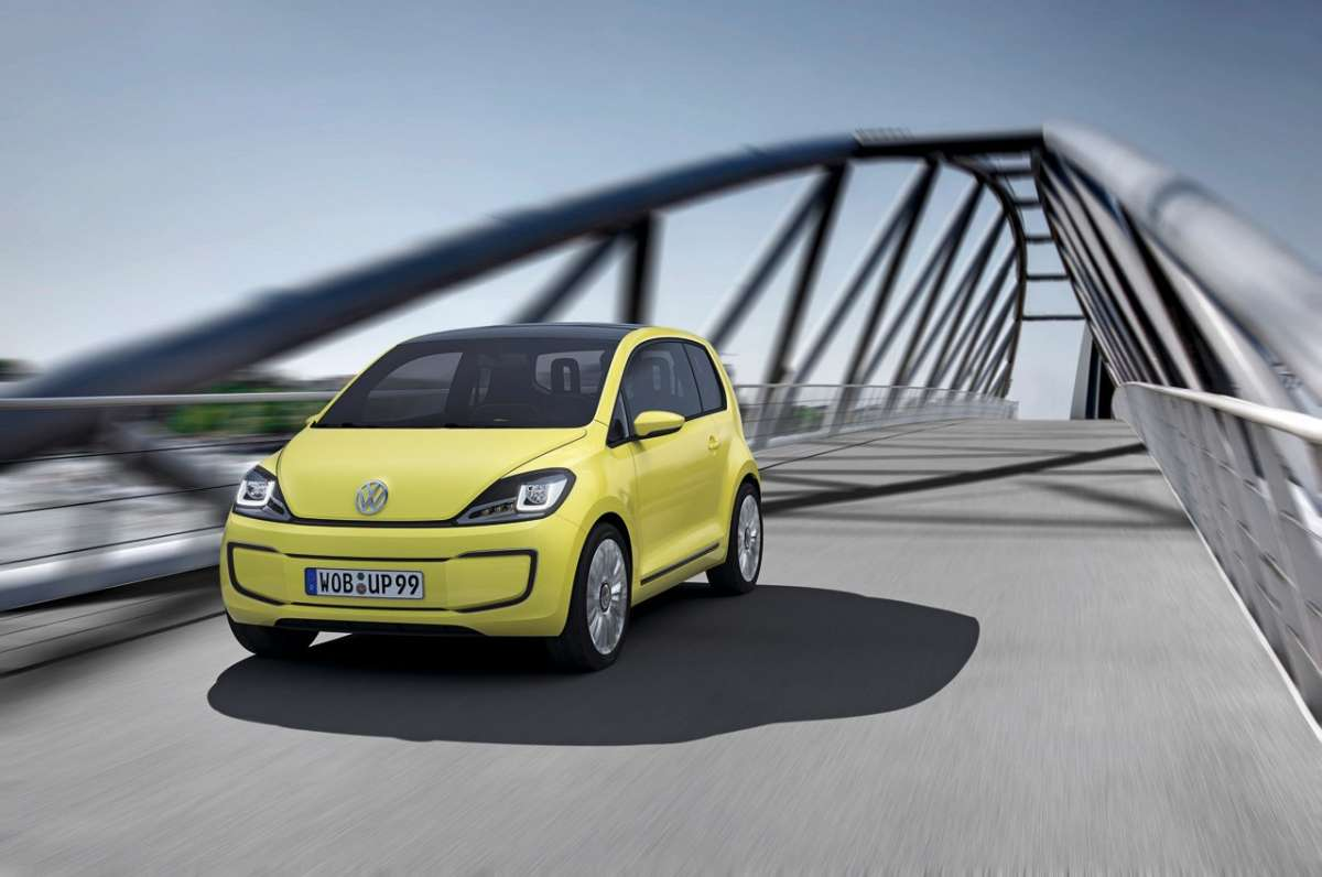 Volkswagen E-Up frontale