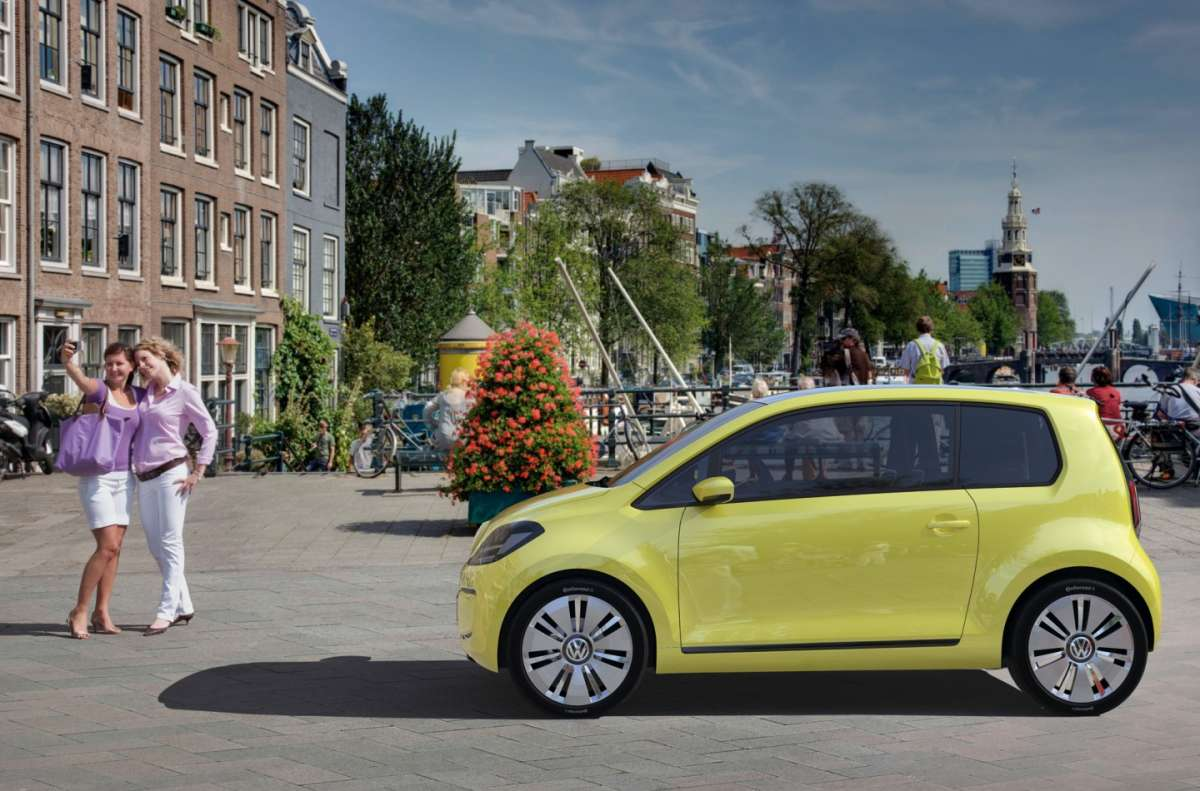 Volkswagen E-Up laterale