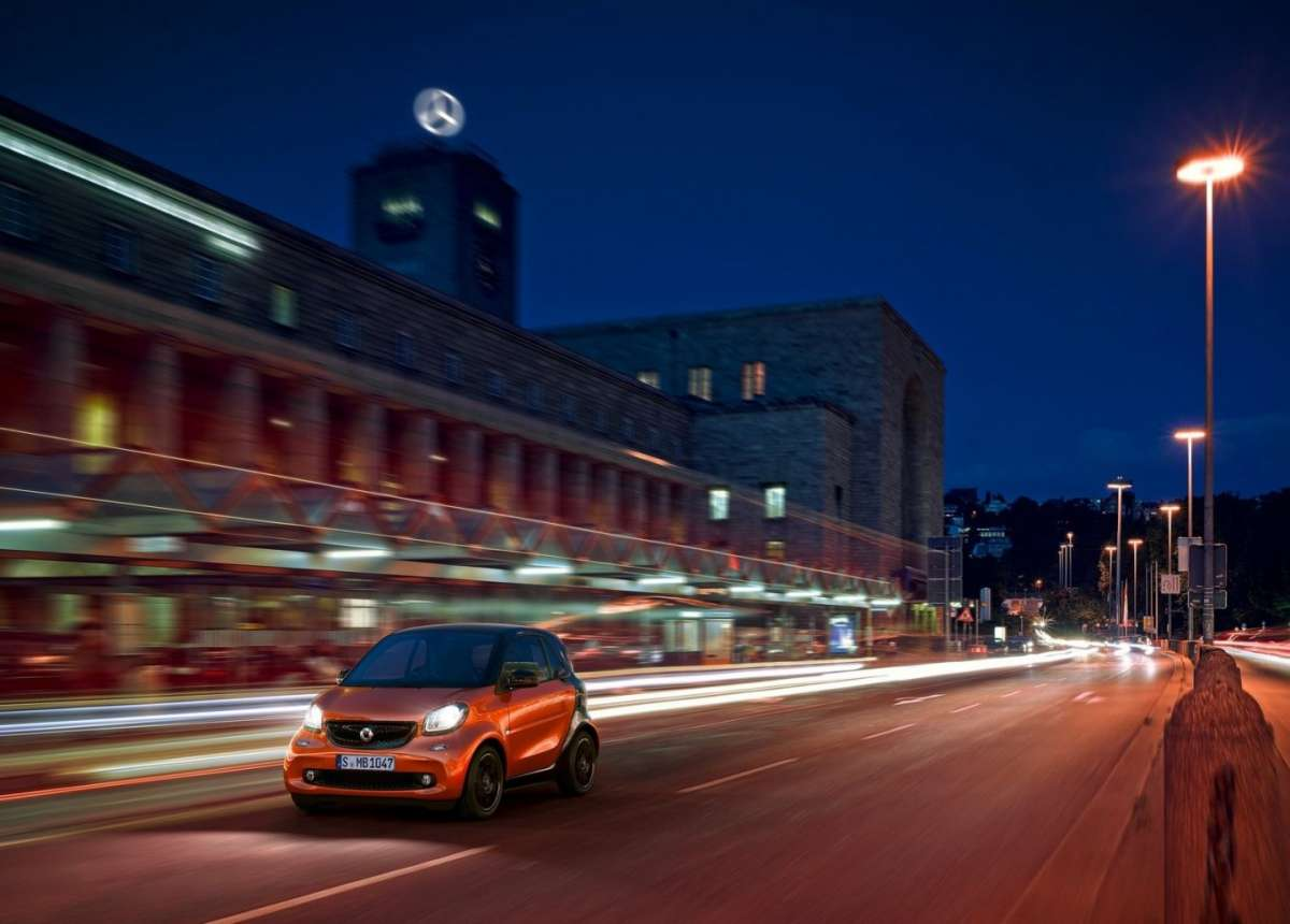 Smart Fortwo 2015 luci