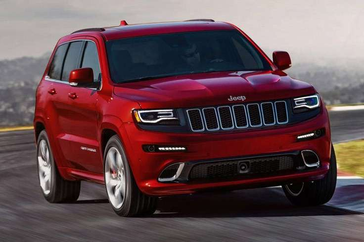 Jeep Grand Cherokee SRT, in pista