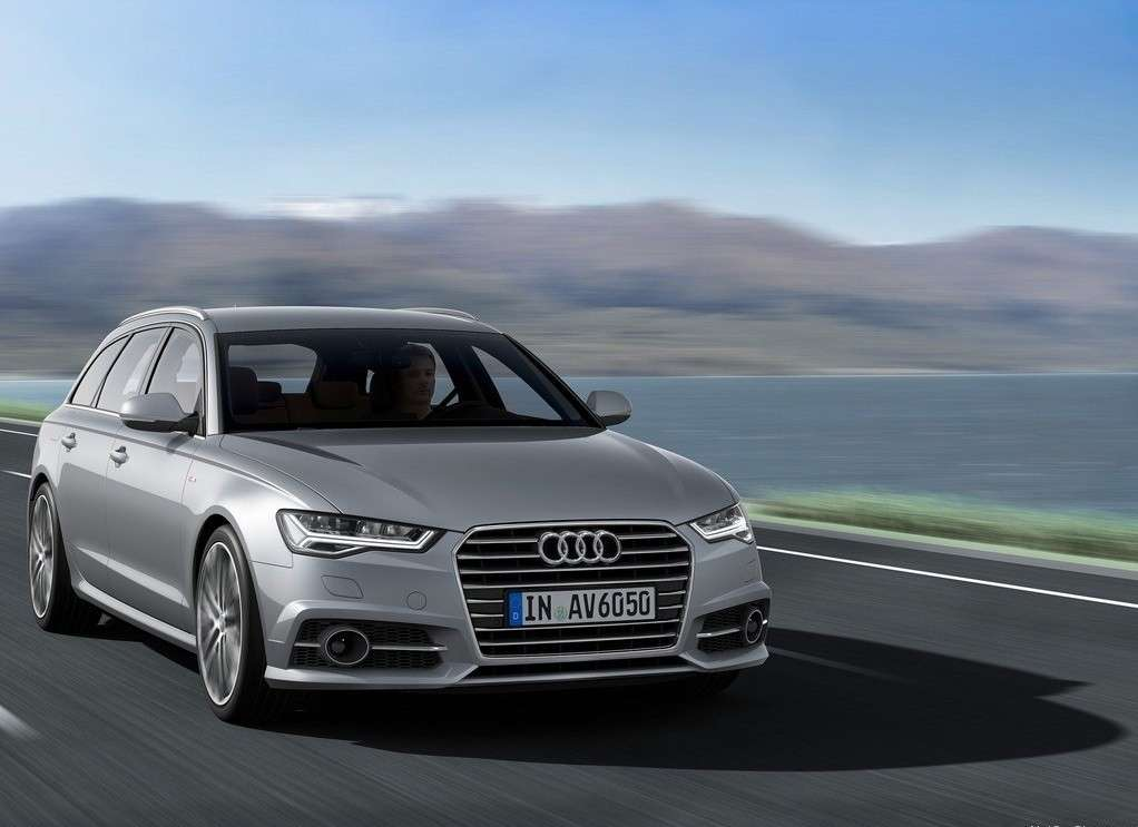 Audi A6 2015 frontale
