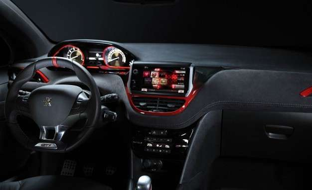 Peugeot 298 GTi 30th interni plancia