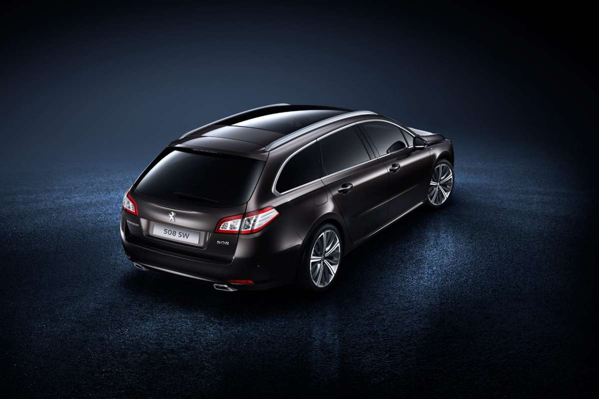 Peugeot 508 restyling dietro