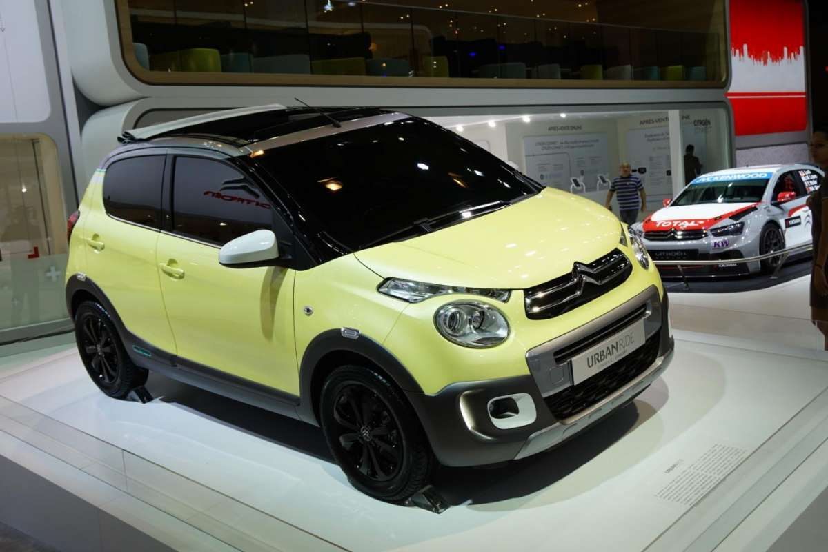 Citroen C1 Urban Ride, Salone Parigi 2014