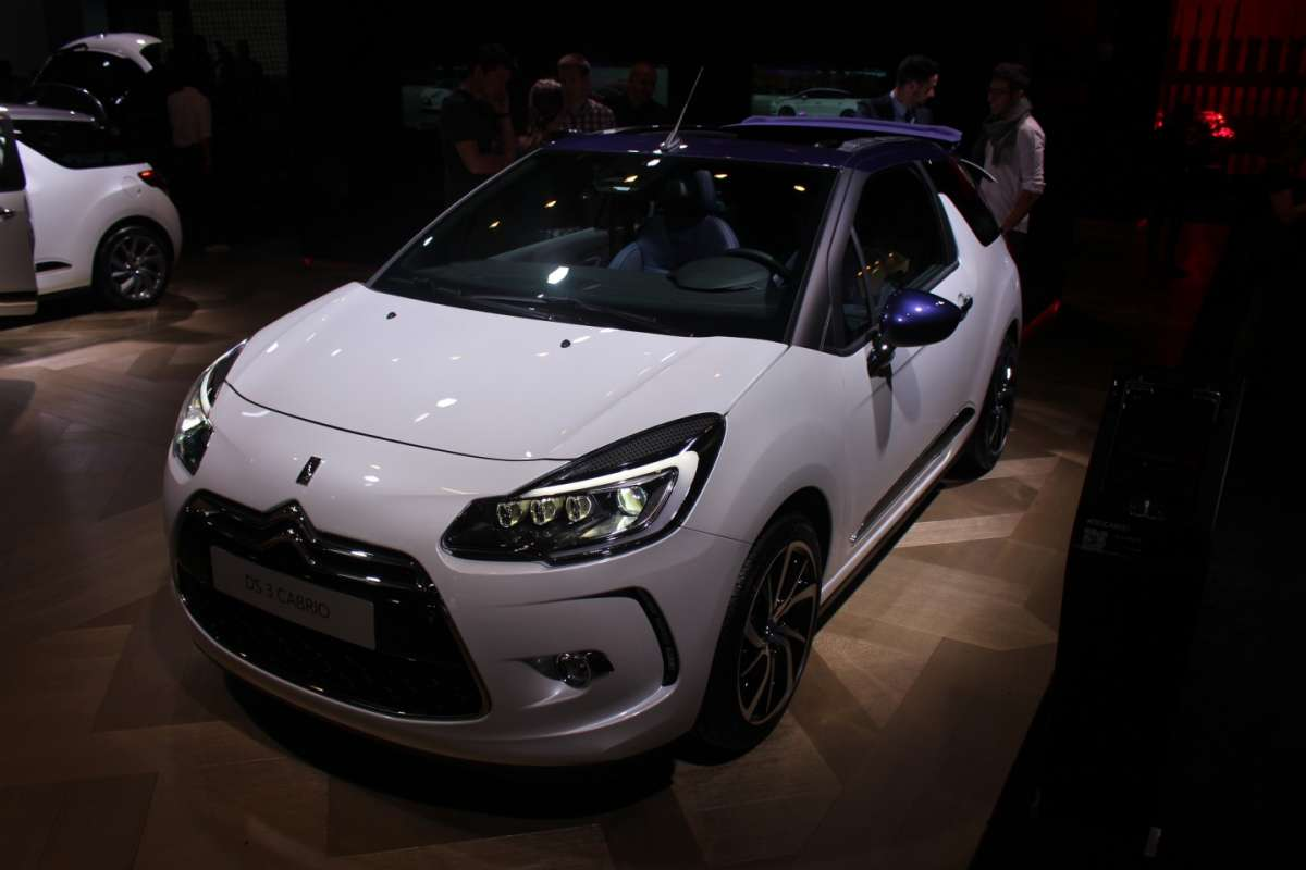 Anteriore Citroen DS3 2015 restyling