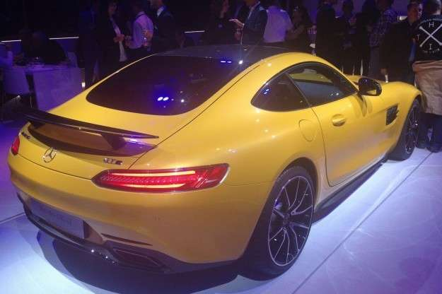 Mercedes AMG GT posteriore