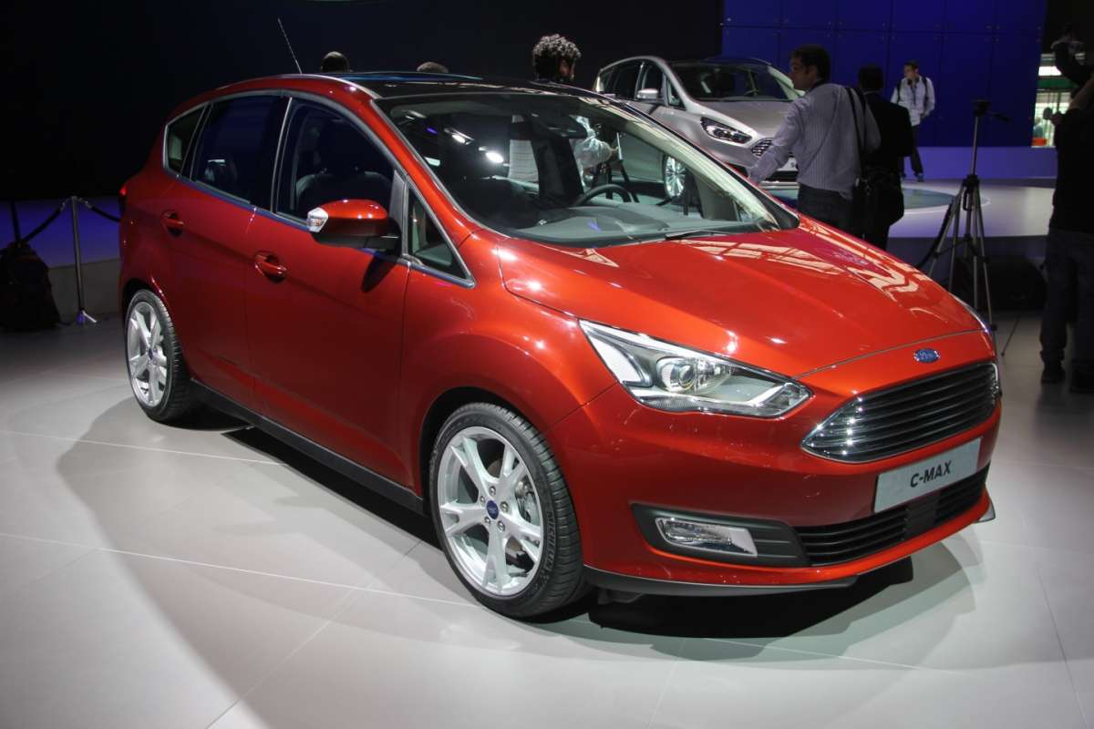 Ford C-Max restyling muso