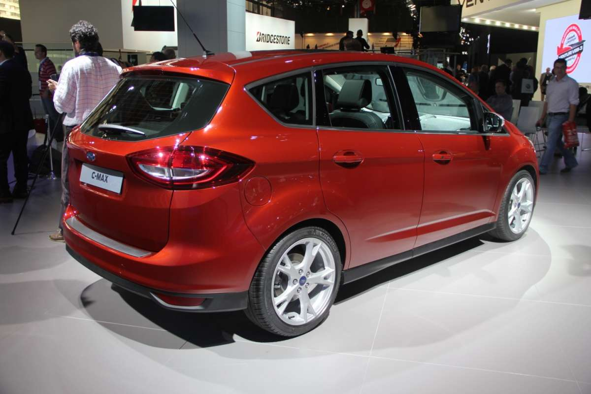 Ford C-Max restyling posteriore