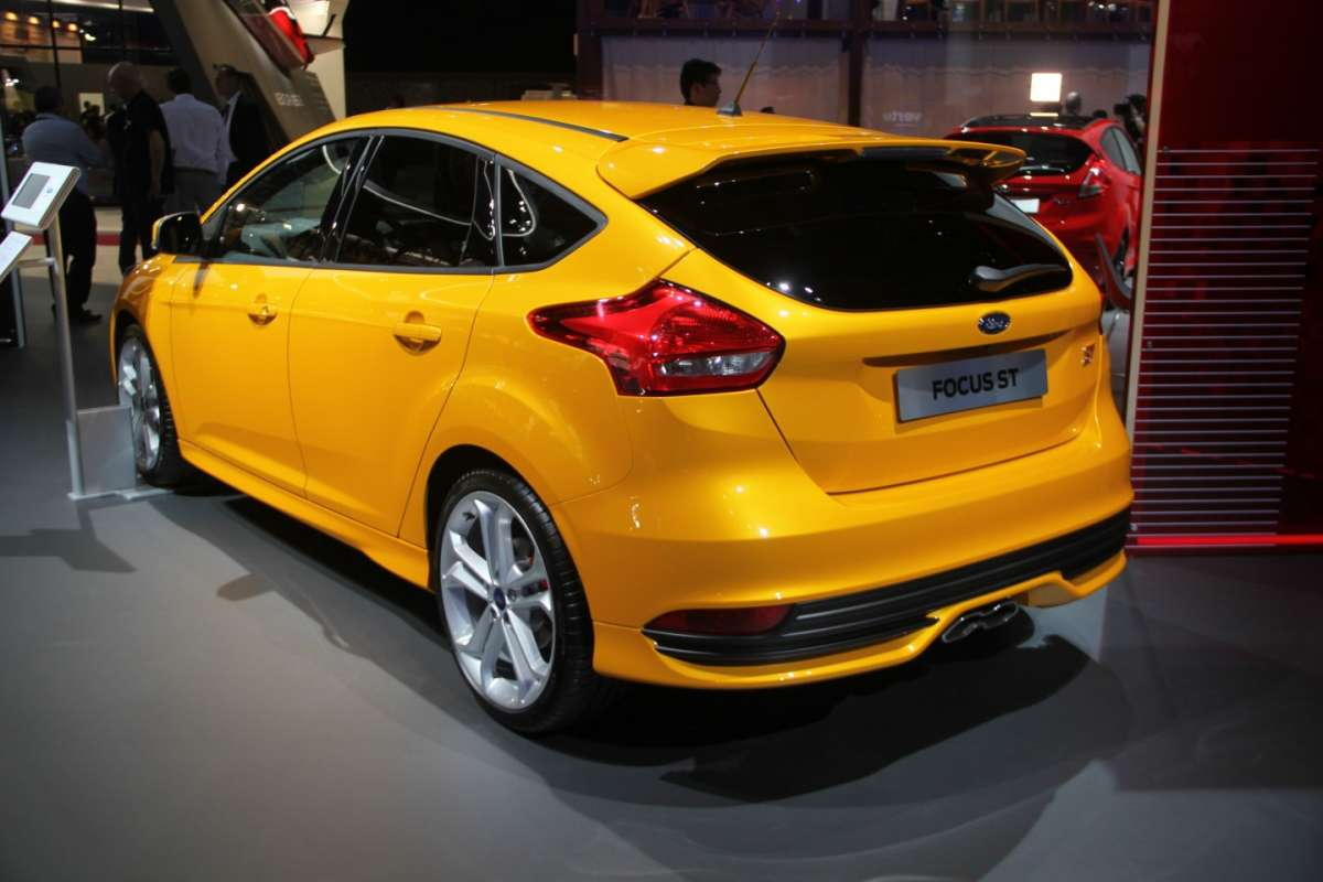 Ford Focus ST restyling posteriore