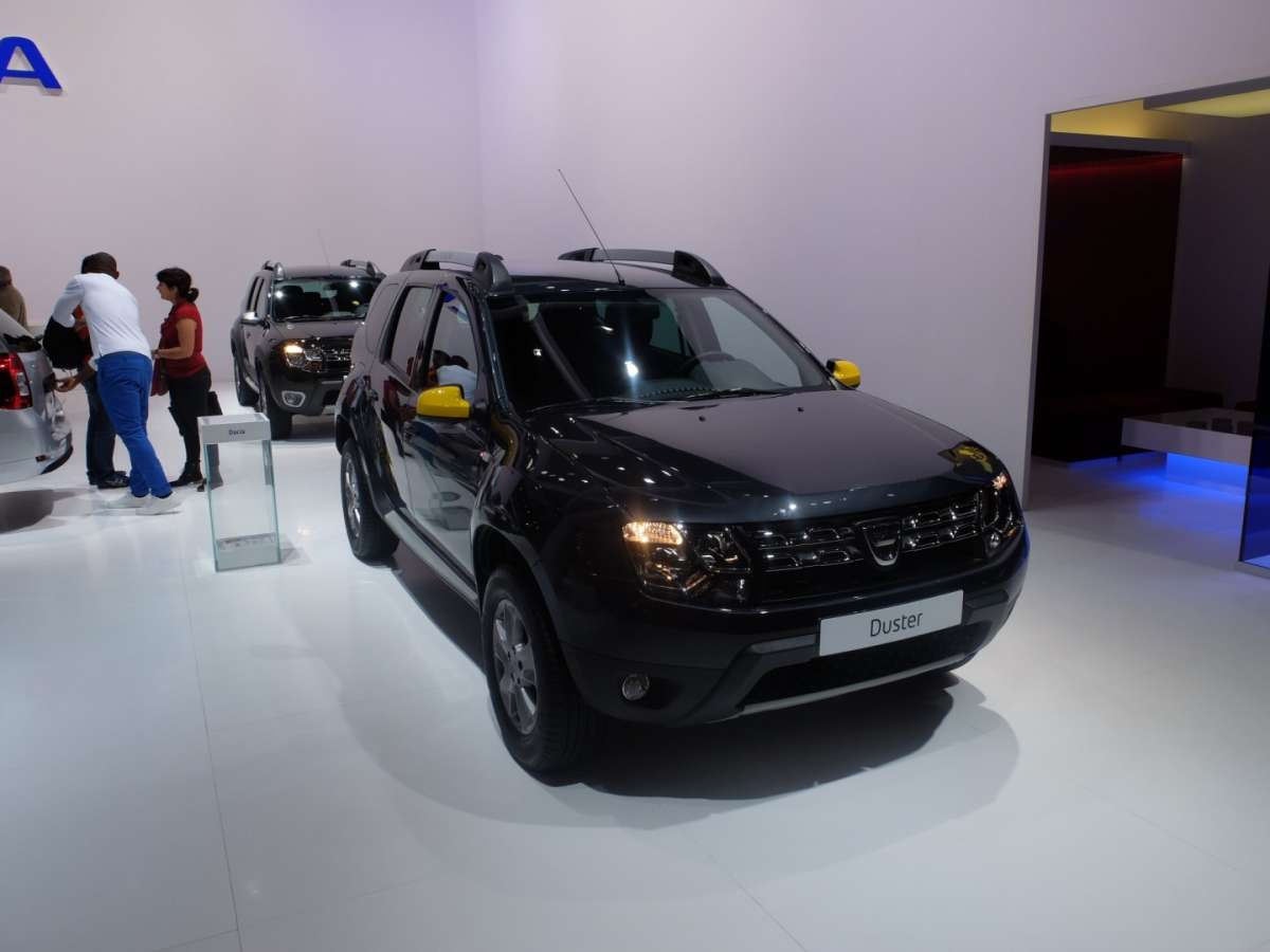 Dacia Duster Air al Salone di Parigi 2014