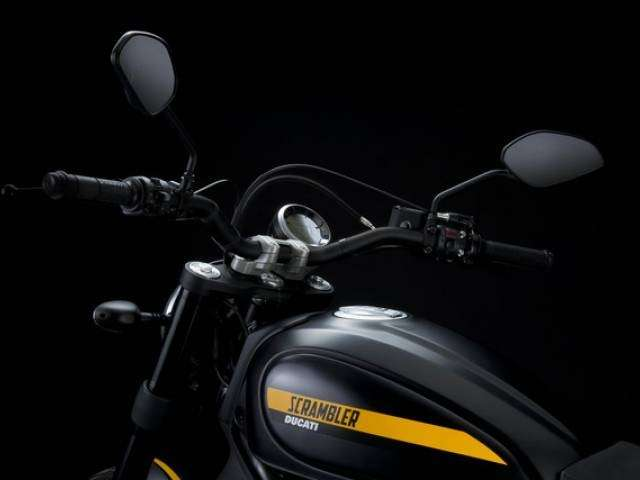 Manubrio dello Scrambler Ducati Full Throttle