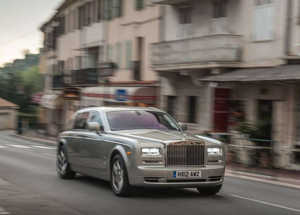 Rolls Royce Phantom, test drive