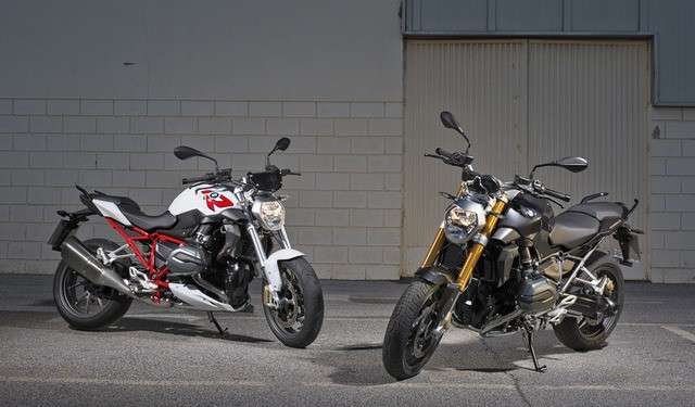 BMW R 1200 R ed R 1200 RS Nakes