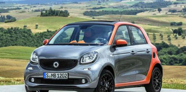 Smart Forfour laterale anteriore