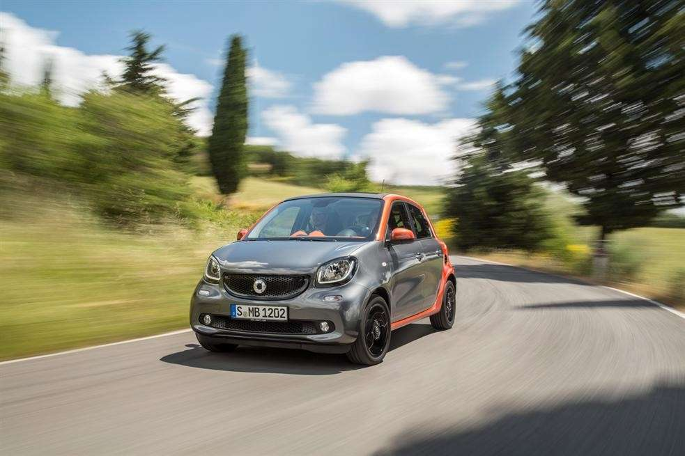 Smart Forfour in movimento