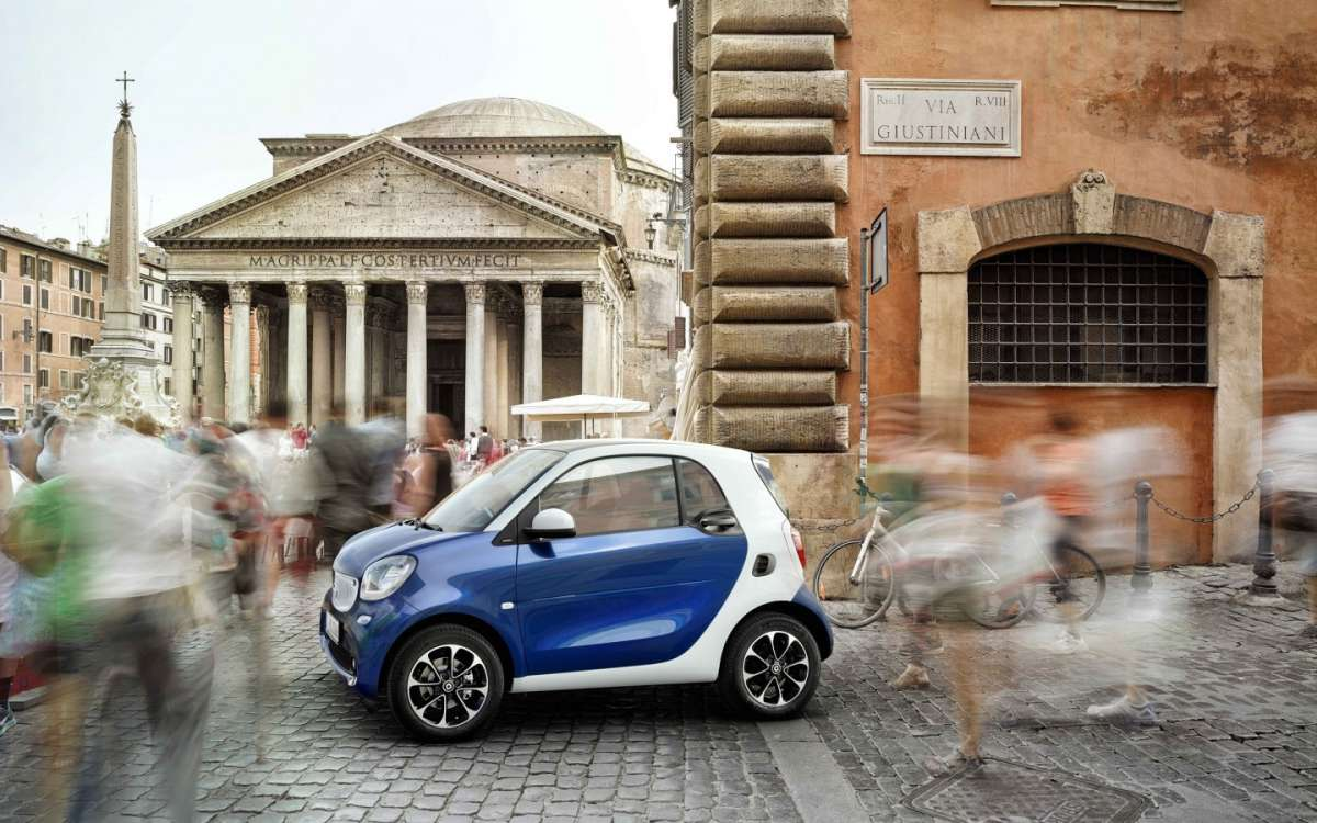 Smart Fortwo a Roma