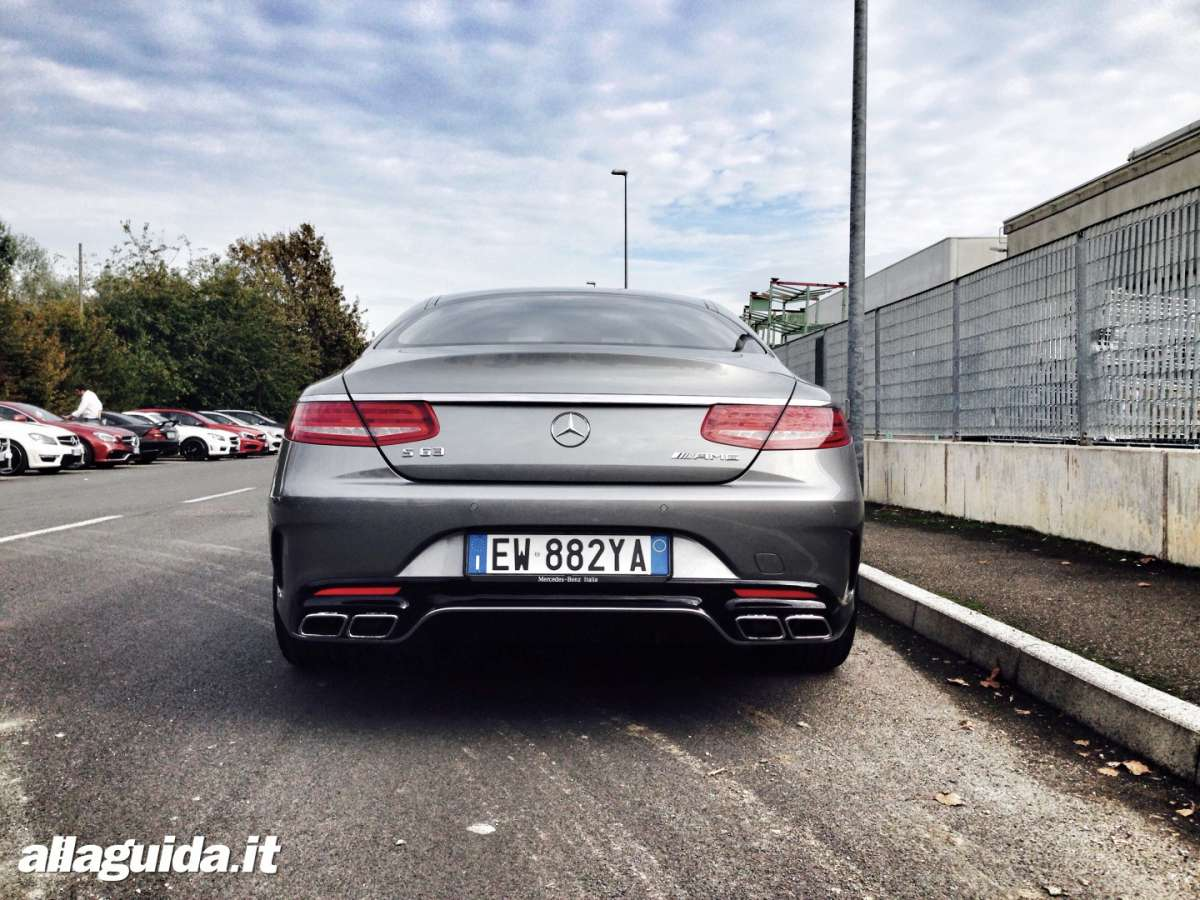 S63 AMG posteriore