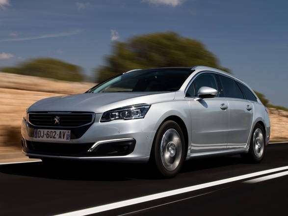 Peugeot 508, nuovo frontale.