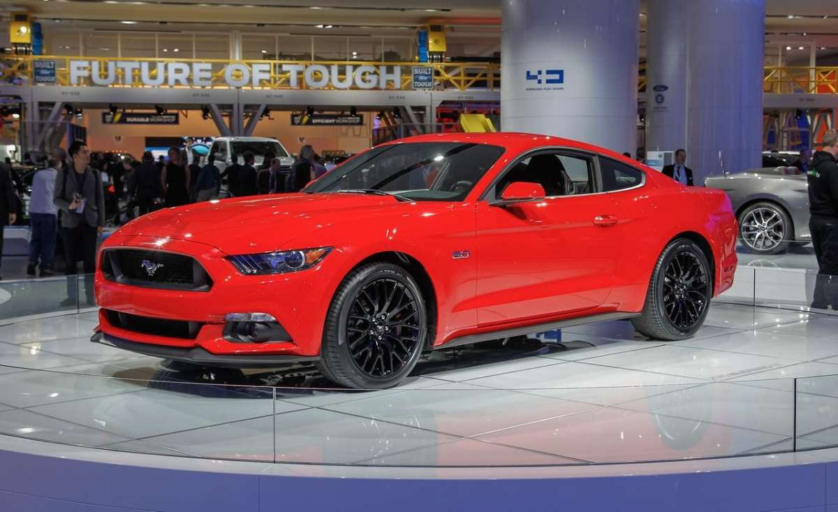 Ford Mustang Expo 2015