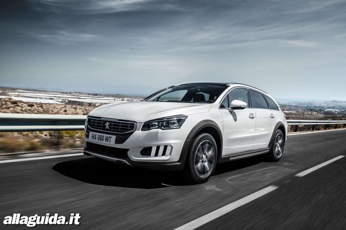 Peugeot 508 wagon crossover