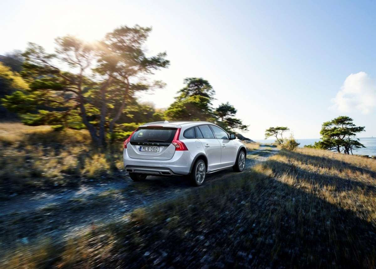 Posteriore della V60 Cross Country