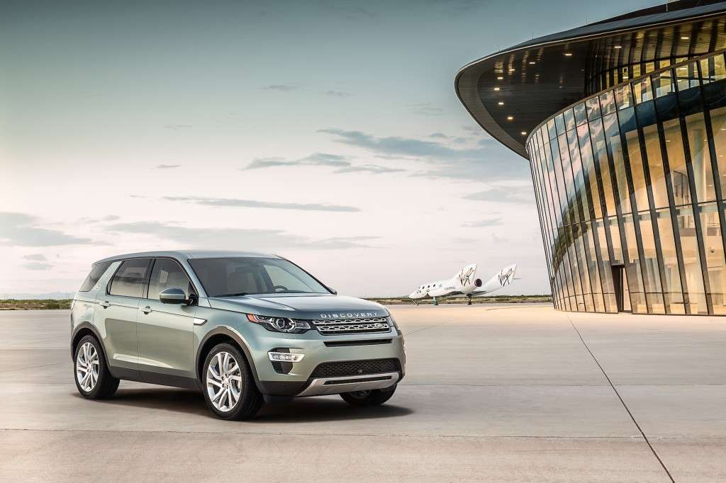 Land Rover Discovery Sport, stile british.