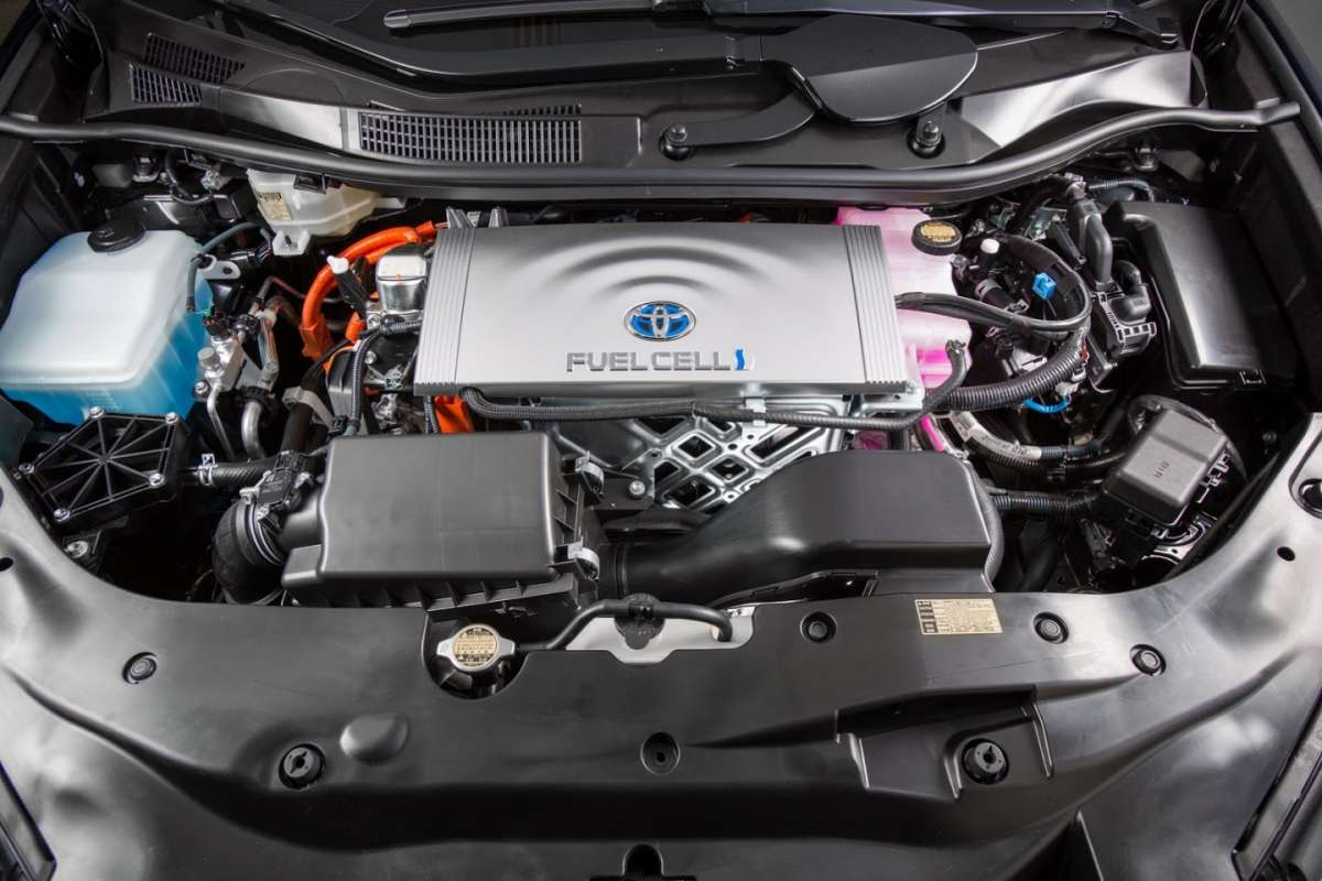 Toyota Mirai Fuel Cell motore