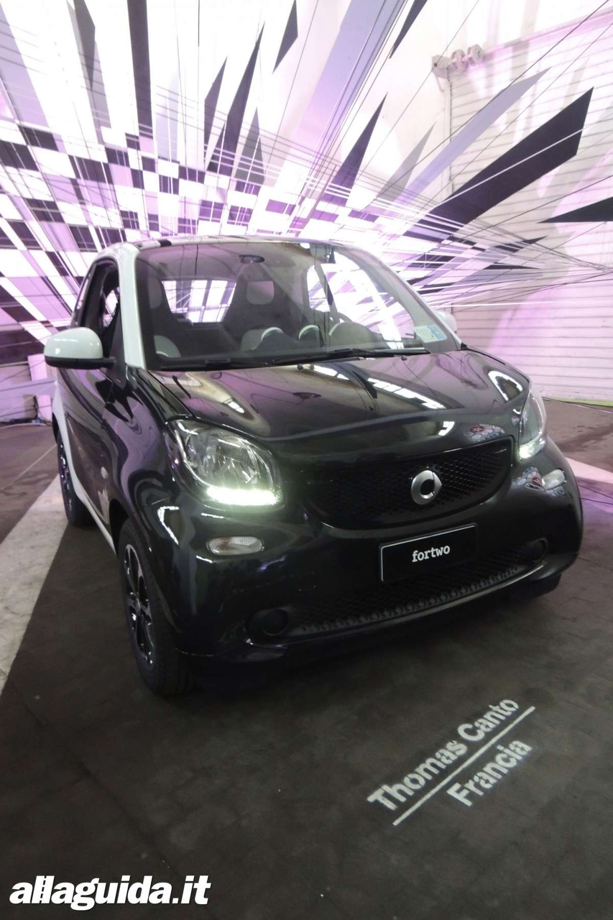 luci diurne a led Smart ForFour 2014