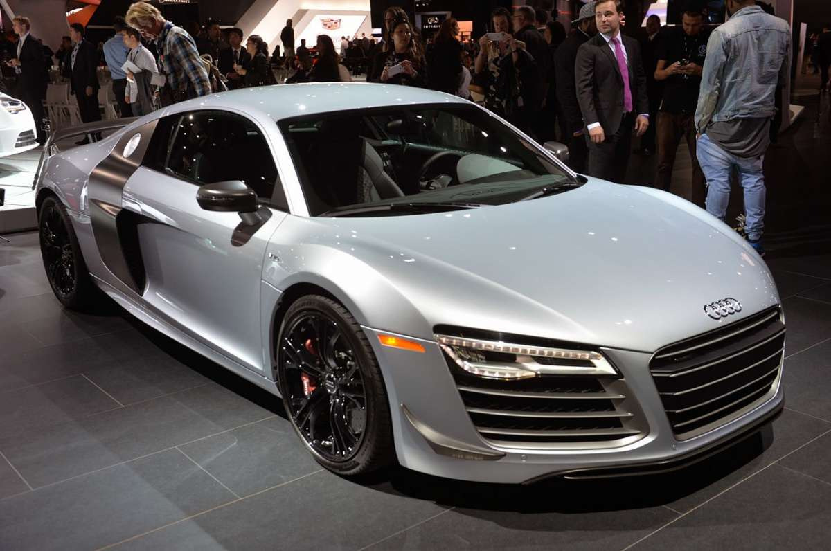 Audi R8 Competition, Salone Los Angeles 2014 (1)