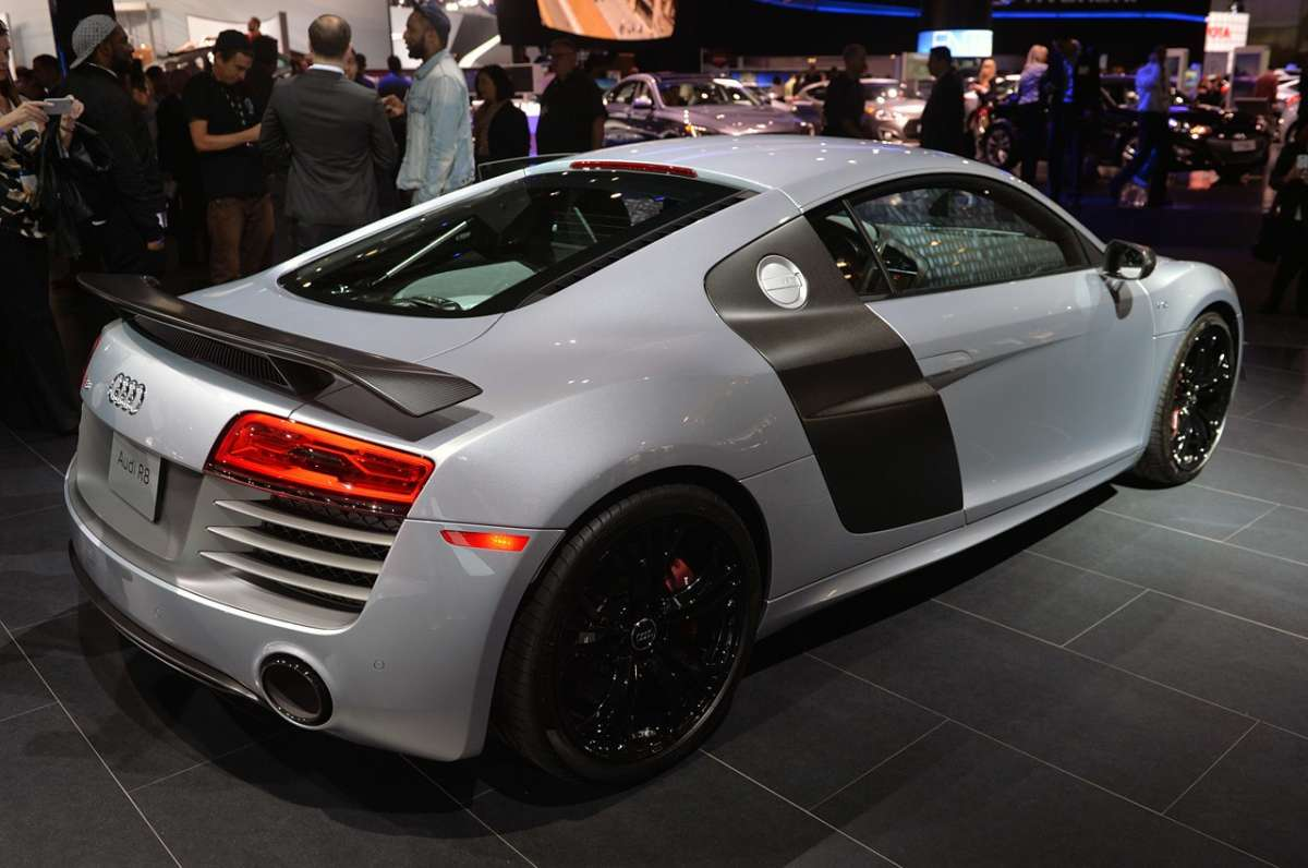 Audi R8 Competition, Salone Los Angeles 2014 (2)