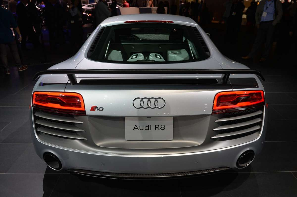 Audi R8 Competition, Salone Los Angeles 2014 (3)