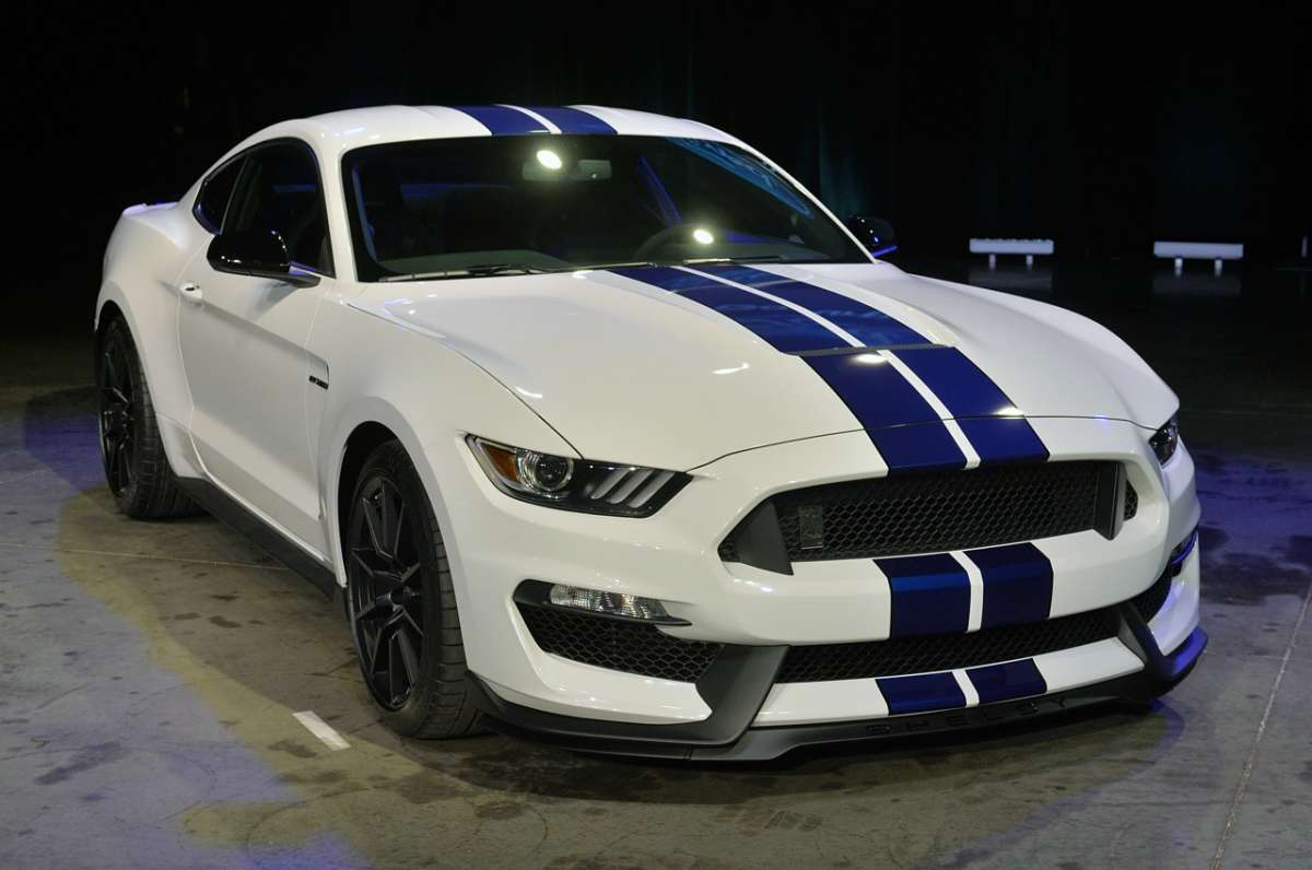 Mustang Shelby GT350, Salone Los Angeles 2014 (1)