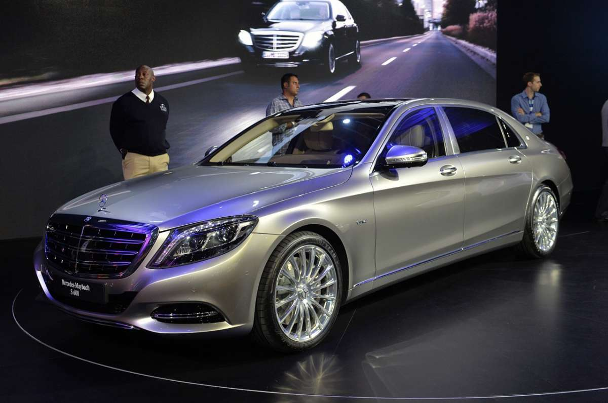 Anteprima mondiale per Mercedes-Maybach a Los Angeles