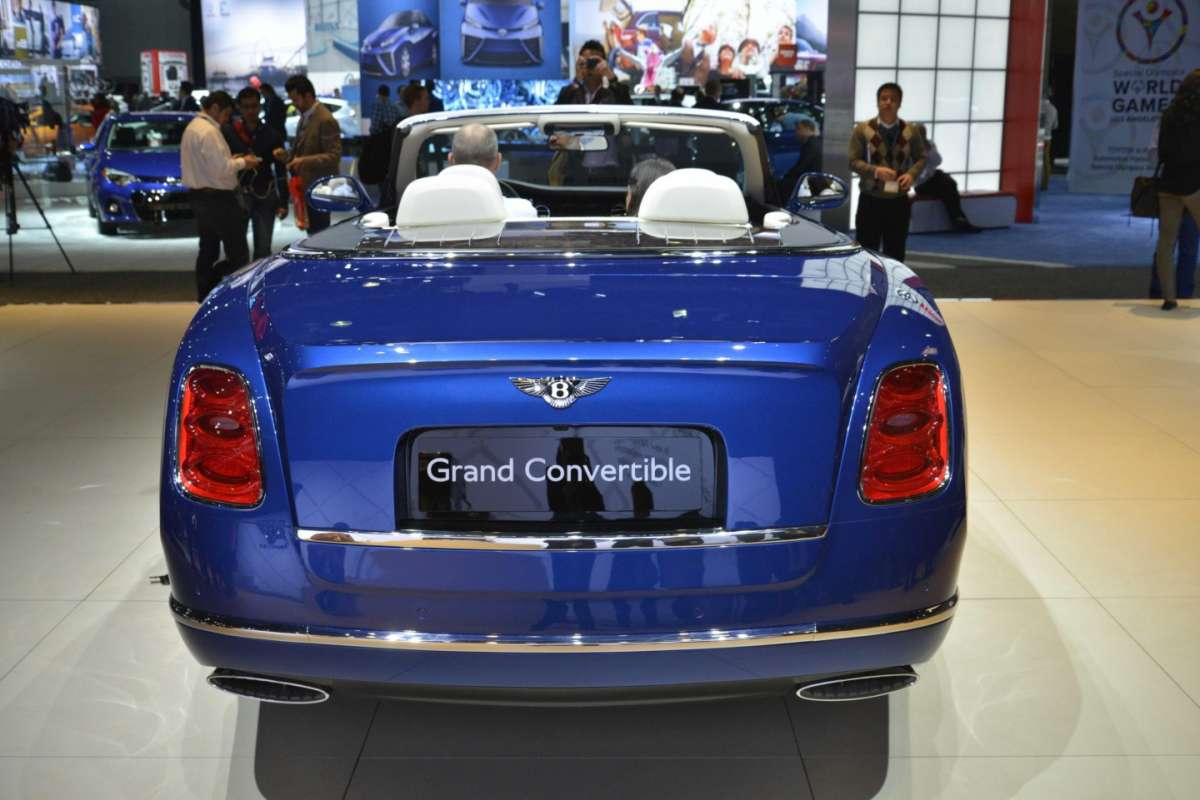 Anticipa la futura Bentley Mulsanne cabrio