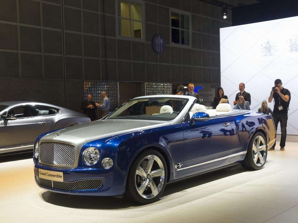Bentley Grand Convertible al Salone di Los Angeles 2014