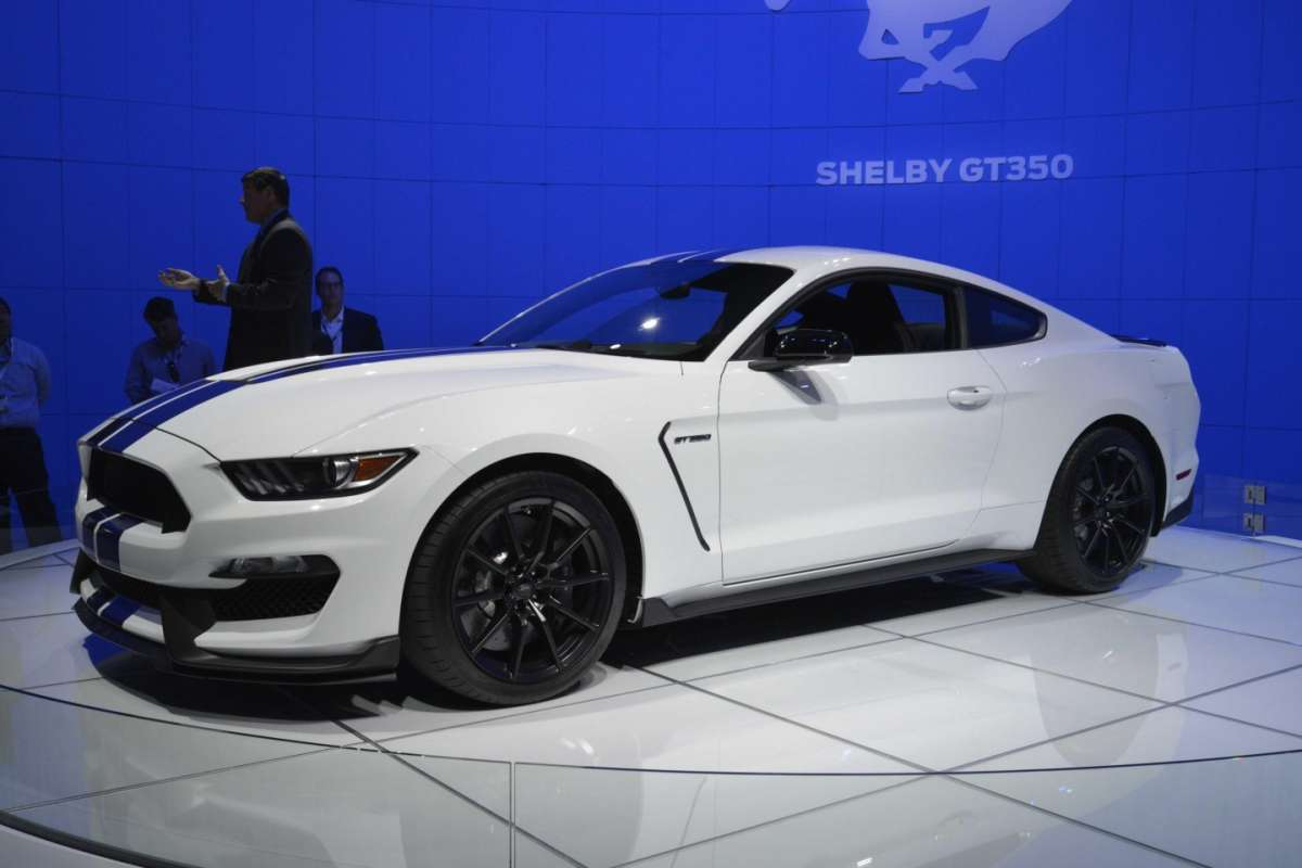 Ford Mustang Shelby GT350, Salone di Los Angeles 2014 (1)