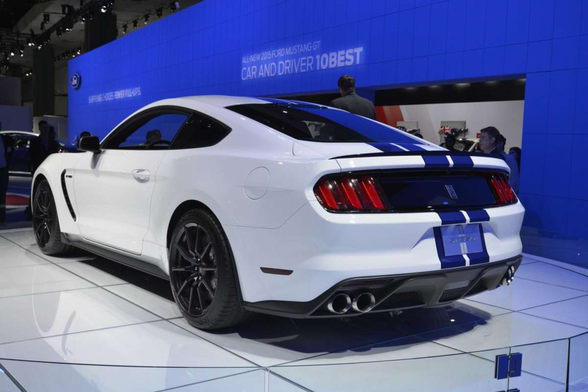 Ford Mustang Shelby GT350, Salone di Los Angeles 2014 (2)